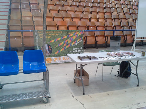 Fotos  19 y 26/09/2015 La Liga Arco Iris en las GazteOlimpiadak organizadas por el Consejo de la Juventud de Euskadi.