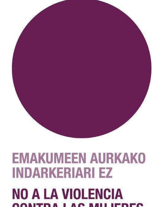 Emakumeen kontrako indarkeriaren aurkako Nazioarteko Eguna – Día Internacional contra la Violencia hacia las Mujeres