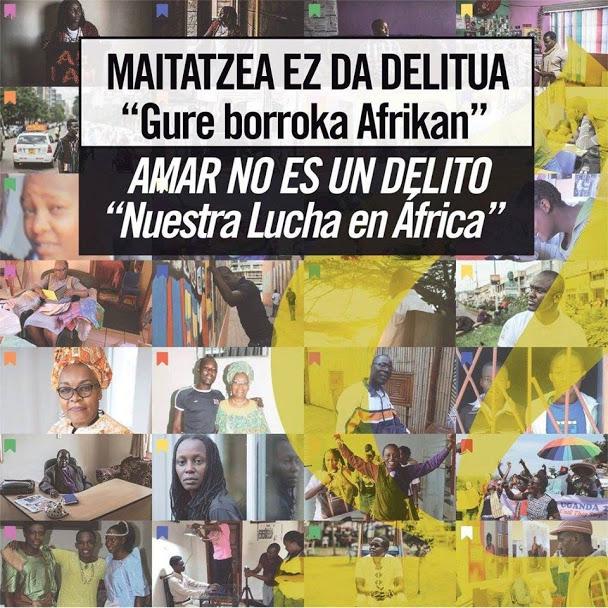 """Fotos 18/02/2016 AMNISTÍA INTERNACIONAL – Exposición fotográfica """"Amar no es un delito: Nuestra lucha en África"""""""