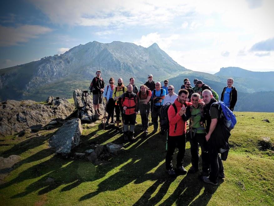 FOTOS 11/10/2016 Grupo de Monte: Anboto