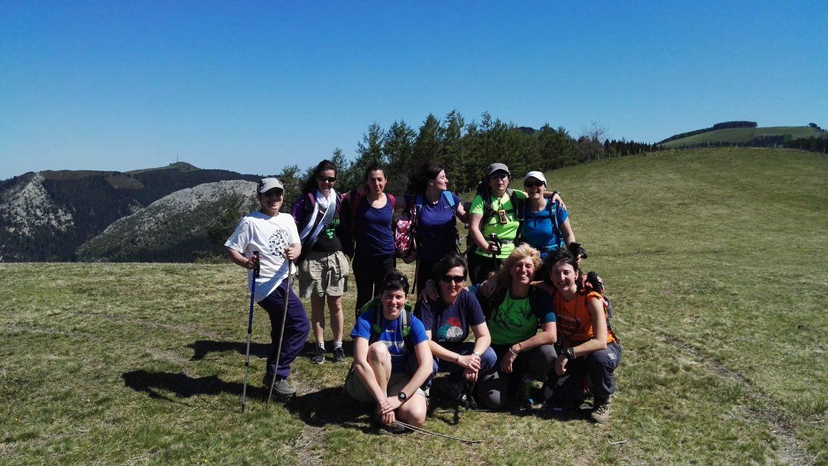 Fotos 09/04/2017 Mañaneras. Kilimon trail desde Mendaro
