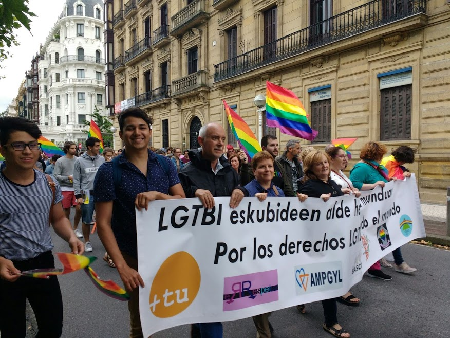 Fotos 28/06/2017. Manifestación del Orgullo. Donostia