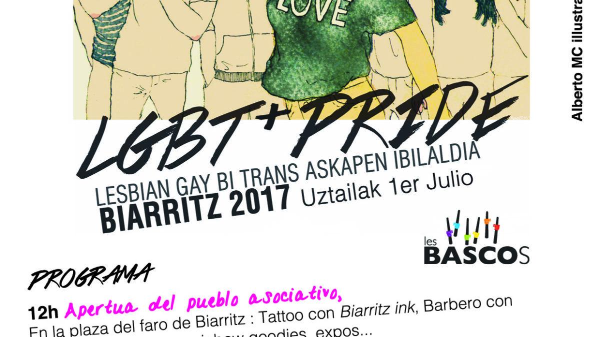 Pride LGBT+ de Les Bascos en Biarritz