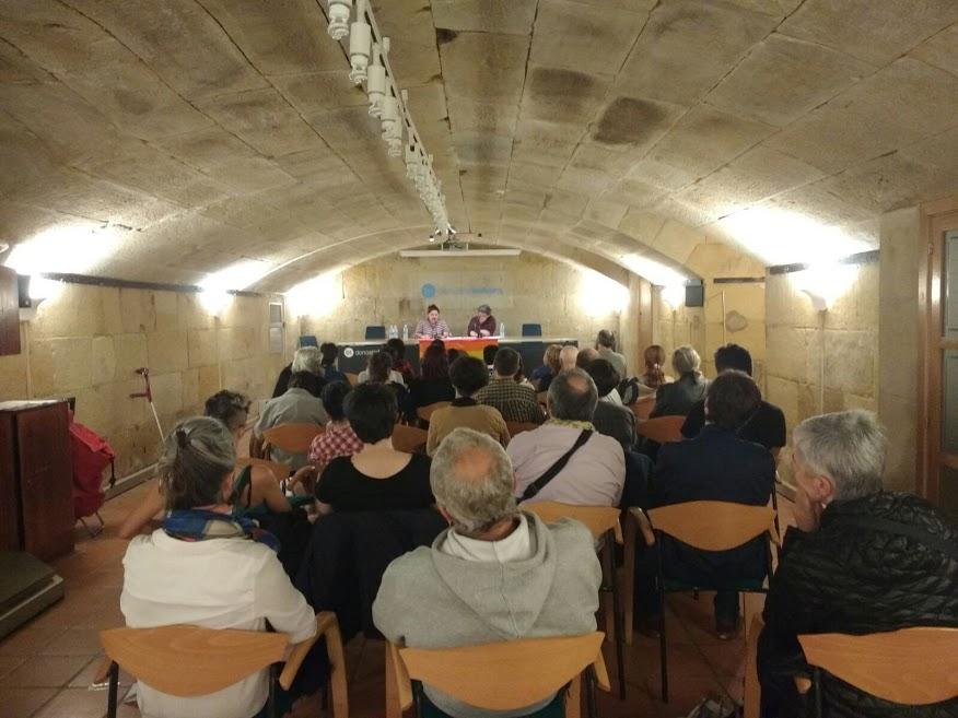 Fotos 20/10/2017 Conferencia de Itxaro Borda