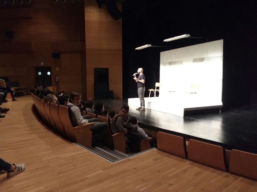 Fotos 23/11/2017 Teatro con Orgullo. Muxua en Eibar