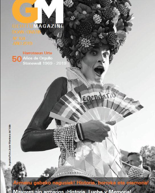 Gehitu Magazine 104. Junio 2019