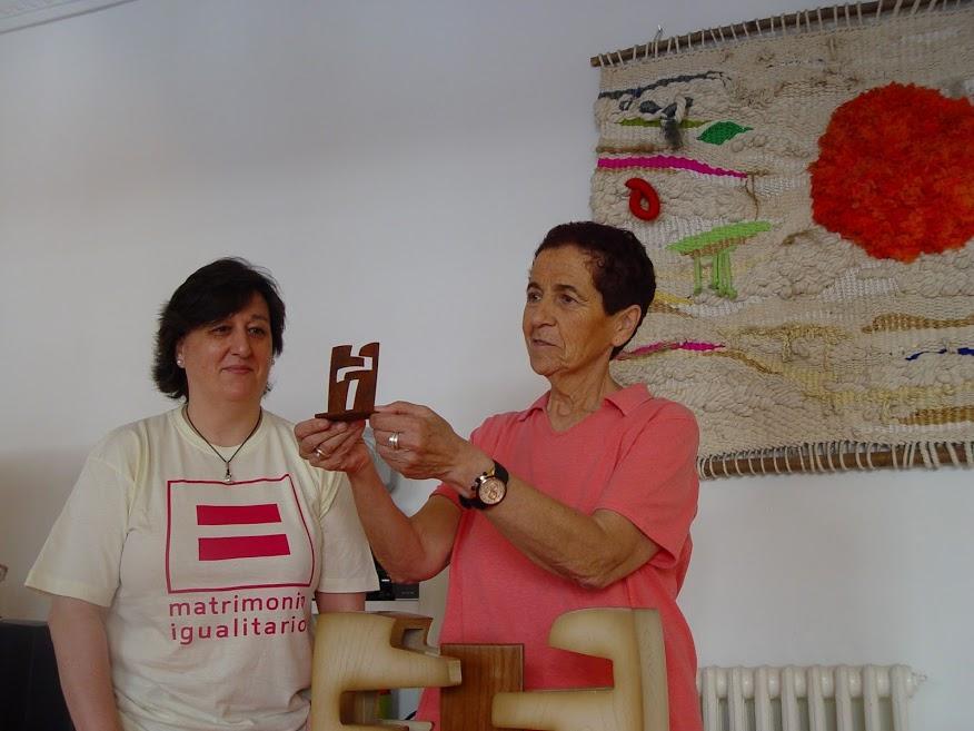 Fotos 16/06/2012 Gehitu de Plata a Empar Pineda