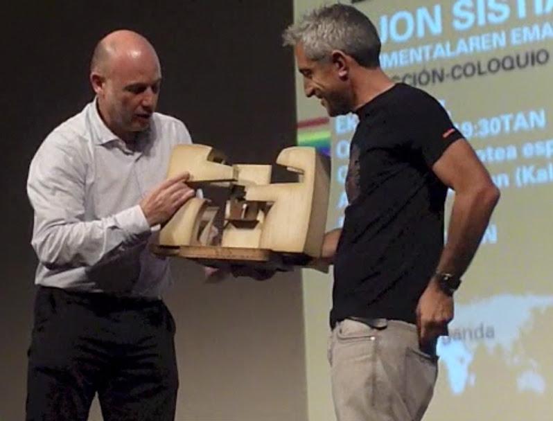 Fotos 27/06/2013 Premio Gehitu de Plata a Jon Sistiaga