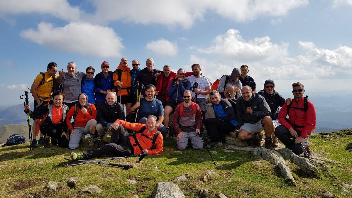Fotos 13/11/2019 Ascensión al monte Adi (1.459 m.) y al Iturrumburu (1.313 m) desde Sorogain