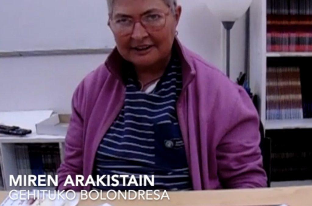 Conoce a Miren Arakistain, voluntaria de Gehitu