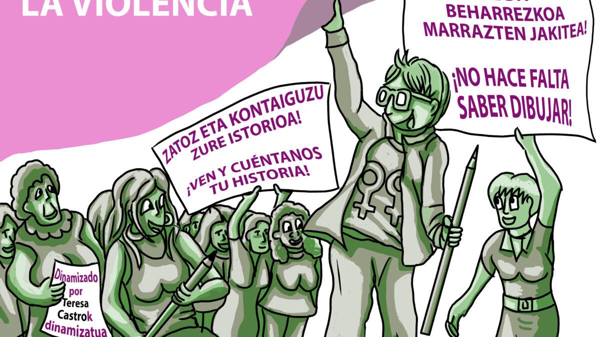 """Taller de fanzine """"Mujeres norte y sur contra la violencia"""""""