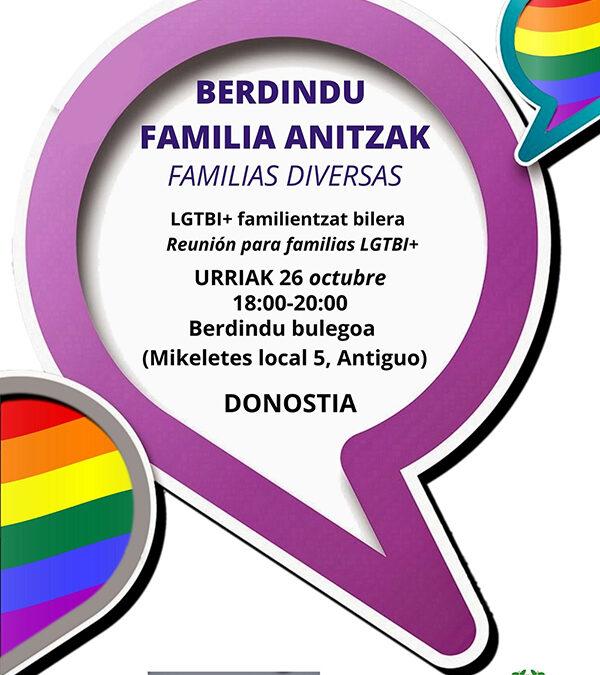 BERDINDU FAMILIA ANITZAK