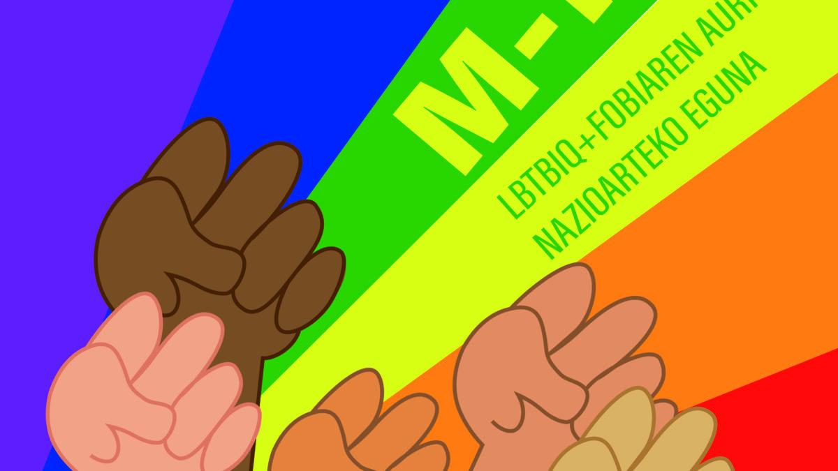 MAIATZAREN 17a: LGTBIfobiaren kontrako Nazioarteko Eguna